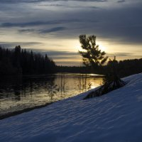 Рассвет на реке Лолог :: Роман Пацкевич