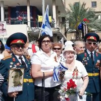 "DSC_2021   Хайфа. Израиль: ""Бессмертный Полк!"" :: Aleks Minin"
