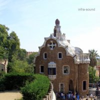 Барселона, парк Гуэль :: Lüdmila Bosova (infra-sound)