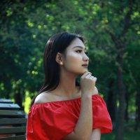 Девушка. :: Дарья Симонова