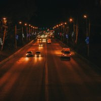 Ночная дорога :: Оксана Баллыева