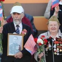 Ветераны на Красной площади :: Евгений М