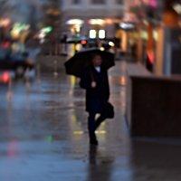 Дождь над горожом :: dindin