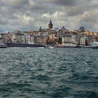 Галатская башня.Золотой рог. Стамбул. :: Alexsei Melnikov