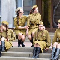 Фрагмент уличного спектакля :: Елена Иванова