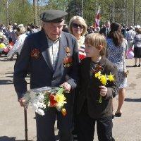 беседа с правнуком :: Владимир