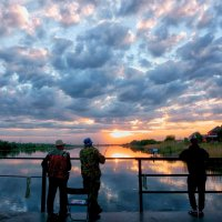 Вчерашний закат. :: Марина Соколова