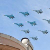 9 мая в небе Москвы /// :: Александр Степовой