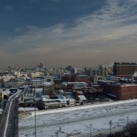 Москва. Вид со смотровой площадки Храма Христа Спасителя.4. :: Андрей Ванин