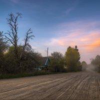 Вечерняя тишина в деревне. :: Михаил Александров