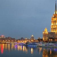 Панорама. Вечерняя Москва :: Николай Бабухин