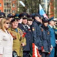 Построение колонны Бессметртного полка :: Мария Кузнецова (Суворова)