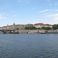 Чехия. Прага. Река Влтава. :: Владимир Драгунский
