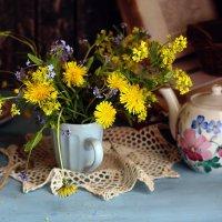 Желтых цветов букет.... :: Liliya