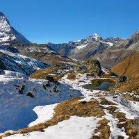 Альпийский пейзаж :: Elena Wymann