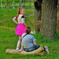 Девчонки отдыхают... :: Sergey Gordoff