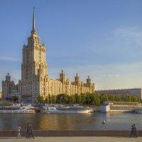 Москва. Гостиница Рэдиссон Ройал, Москва. :: В и т а л и й .... Л а б з о'в