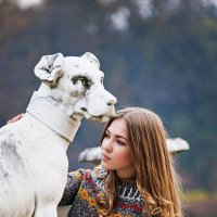 Прогулка в парке :: Надежда Журавкова