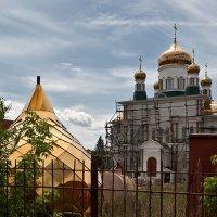 Строительство собора.  Бугуруслан. Оренбургская область :: MILAV V
