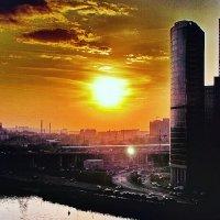 Московские закаты :: Сергей Беличев