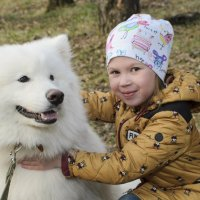 Человек собаке друг! :: Ольга Русакова