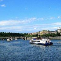 Прага. Река Влтава. :: Владимир Драгунский