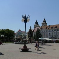 Площадь   Рынок   в   Ивано - Франковске :: Андрей  Васильевич Коляскин