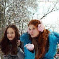 Девушки (1646) Зимняя фотовстреча :: Виктор Мушкарин (thepaparazzo)