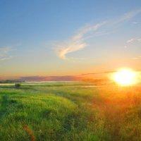 Солнечный пейзаж :: Михаил Пахомов