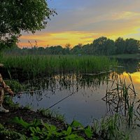 Вечерняя рыбалка :: Сергей