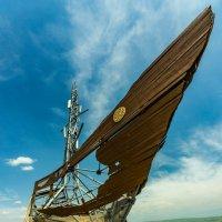 Корабль в степи :: Oleg Sharafutdinov