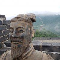 Терракотовый воин на Китайской стене :: Александр