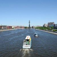Москва-река. Навигация :: Наталья Булыгина (NMK)