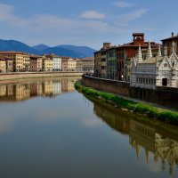 Река Арно в Пизе. :: Тамара