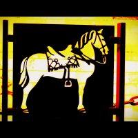 Жёлтый конь :: Алексей Соколовский