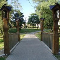 Kretingos tiltai / Bridge in Kretinga :: silvestras gaiziunas gaiziunas