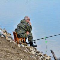 Рыболов. :: Александр Зуев