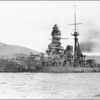 "I.J.N.battleship ""Kirishima"" at Kure, Japan, March 10th1940. :: Александр"