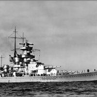 "German battlecruiser ""Scharnhorst"" returning to Kiel, April 1939. :: Александр"