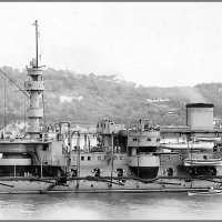 "French (ironclad) battleship ""Hoche"" before her 1895 refit. :: Александр"