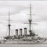 "Imperial Japanese Navy armoured cruiser ""Yakumo"" in Australia. :: Александр"