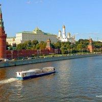 Летние виды Москва-реки :: Александр Машков (alex2009vm)