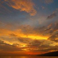 Закат в Гагре :: Мазутка