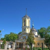 Церковь Косьмы и Дамиана в Королёве. :: Александр Романов