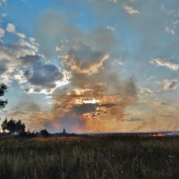 Пожар в деревне 2014 года :: Валентина Пирогова