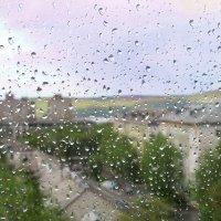 Дождь - связующая нить - Дождь от неба до земли. :: Анна Приходько