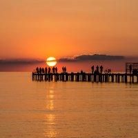 Закат на Anapa-beach :: Павел © Смирнов
