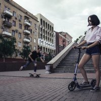 Уличные скейтеры :: Яна Глазова