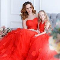 """Фотосессия в Москве """"Мама и дочка"""" :: Таня Турмалин"""