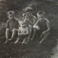 ДЕТИ, 1953г, я и мои друзья. :: Виктор Осипчук